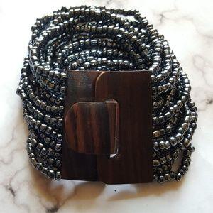 Jewelry - Beaded Bracelet and Earring Set